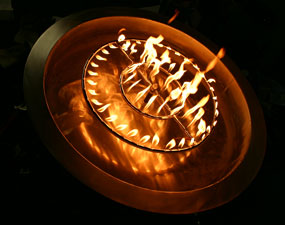 metal fire ring for fire pits